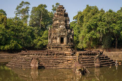 Neak Pean Temple Stock Photography