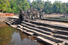 Neak Pean Temple at the Angkor Wat historical site area Royalty Free Stock Photography