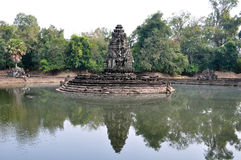 Neak Pean Temple in Cambodia Stock Photos