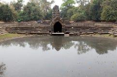 Neak Pean temple ruins Stock Photo