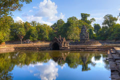 Neak Poan Temple Royalty Free Stock Photos