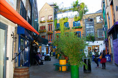Neals yard in london Stock Images