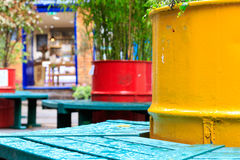 Neal's Yard, a small alley in London's Covent Garden Royalty Free Stock Image