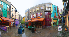 Neals Yard Panorama Royalty Free Stock Image