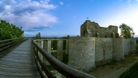 Neamt堡垒,罗马尼亚 库存照片