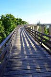 Neamt堡垒-罗马尼亚-访问桥梁 库存照片