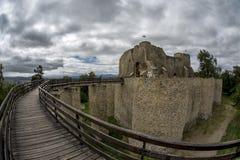 Neamt堡垒Neamtului -罗马尼亚 图库摄影