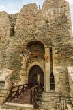Neamt堡垒外墙  库存照片