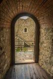 Neamt堡垒内墙  免版税库存照片