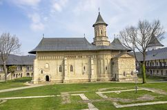 Neamt monastery Royalty Free Stock Photos