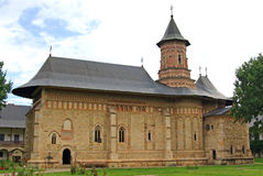 Neamt orthodox monastery Royalty Free Stock Image