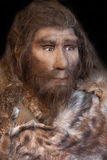 Neanderthal. Caveman from the early human history Royalty Free Stock Image