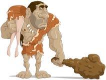 The neanderthal man Royalty Free Stock Photos