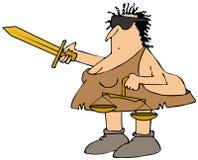 Neanderthaler Rechtvaardigheid Royalty-vrije Stock Fotografie