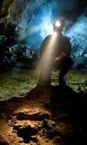 Neanderthalian脚印 免版税库存图片