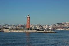 Neapel-Bucht lizenzfreies stockbild