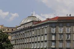 Neapel-Gebäude Stockfotografie