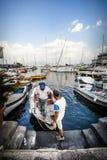 Neapel, Italien Alte Hafenstadt Lizenzfreies Stockbild