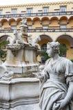 Neapel, Italien auf 10/16/2016 das Kloster von San Gregorio Armeno, Neapel Lizenzfreies Stockfoto