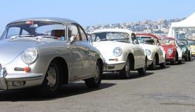 NEAPEL - 30. JUNI: Auto Ausstellungs-Porsches 911 draußen in Neapel, am 30. Juni 2016 Italien stockfotos