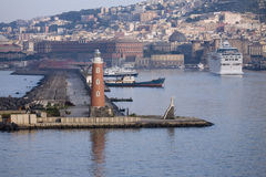 Neapel-Kanal Stockfotografie