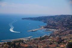 Neapel-Küste Stockfotos