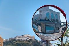 Neapel-Marinestation, Neapel-Stadt Stockbild