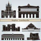 Neapel-Marksteine und -monumente Lizenzfreie Stockfotografie