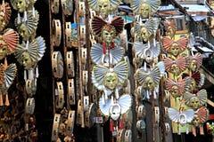 Neapel; Masken im Verkauf Stockbild