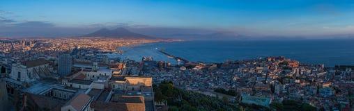 Neapel-Panorama II stockbilder