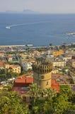 Neapel-Seeseite Lizenzfreie Stockfotos