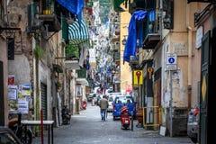 Neapel-Spanischviertel lizenzfreie stockfotos