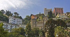 Neapel-städtische Ansicht Lizenzfreies Stockfoto