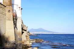 Neapel von Marechiaro Lizenzfreies Stockbild