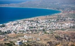 Neapoli Vion City, Greece Stock Images