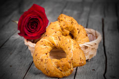 Neapolitan Bagels Royalty Free Stock Image