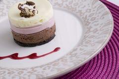 Neapolitan Dessert Stock Image