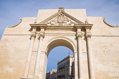 Neapolitan Gate. Lecce. Puglia. Italy. Stock Photo
