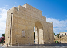 Neapolitan Gate. Lecce. Puglia. Italy. Royalty Free Stock Images
