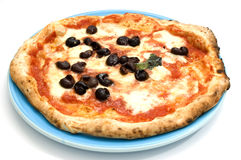 neapolitan originell pizza Royaltyfria Foton