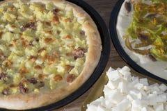 Neapolitan pizza Royalty Free Stock Photos