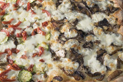 Neapolitan pizza Stock Images