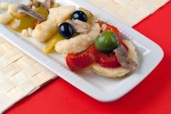 Neapolitan Rinforzo Salad Stock Image