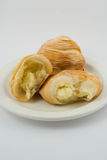Neapolitan sfogliatella Royalty Free Stock Photos