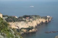 Neapolitan wybrzeże Zdjęcia Royalty Free