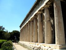 Near Acropolis of Athens, Greece Royalty Free Stock Images