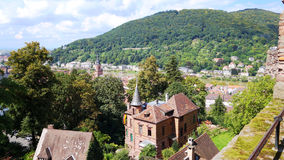 Near the banks of the Rhine River in Germany's view Royalty Free Stock Images