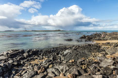 Near Bluff New Zealand the southern mainland point of New Zealan Stock Photography
