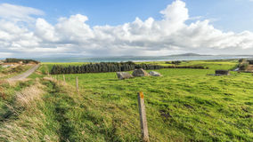Near Bluff New Zealand the southern mainland point of New Zealan Stock Images