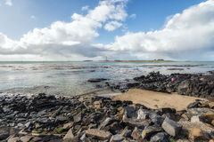 Near Bluff New Zealand the southern mainland point of New Zealan Stock Image
